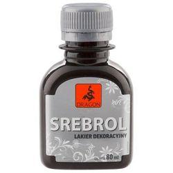 Lakier dekoracyjny SREBROL 80 ml DRAGON