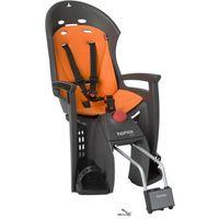 Foteliki rowerowe, Hamax Siesta Fotelik dziecięcy szary/pomarańczowy Mocowania fotelików dziecięcych - BEZPŁATNY ODBIÓR: WROCŁAW!