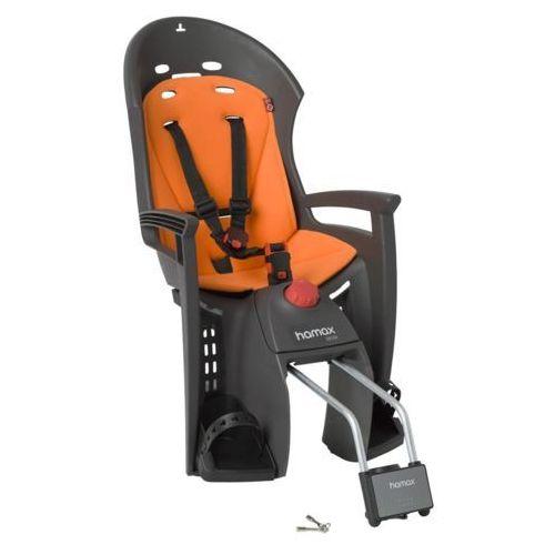 Foteliki rowerowe, Hamax Siesta Fotelik dziecięcy szary/pomarańczowy Mocowania fotelików dziecięcych