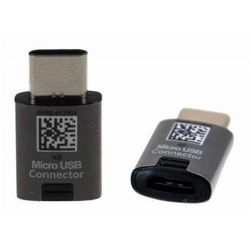 Adapter Samsung GH98-41290A micro usb na USB C typ C Czarny