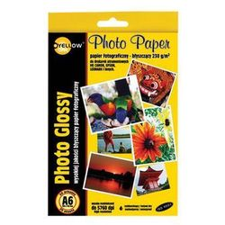 Yellow One Papier fotograficzny A6 230G 20 arkuszy Darmowy odbiór w 21 miastach!