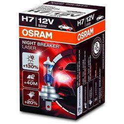Osram Night Breaker Unlimited HCB H7 REFLEKTOR przedni, 64210 NBU, 12 V, składane pudełko