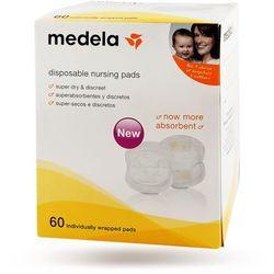 Medela Wkładki laktacyjne z absorbentem pakowane pojedynczo 60 szt.