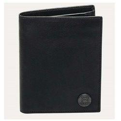 portfel REELL - Clean Leather Black Black (Black )