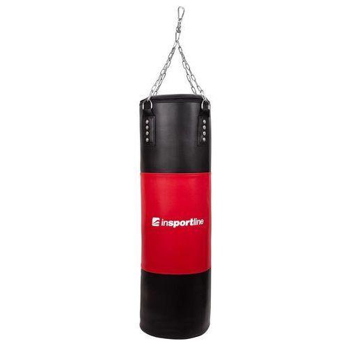 Gruszki i worki treningowe, Worek bokserski inSPORTline 40-80 kg - Kolor Czarno-zielony