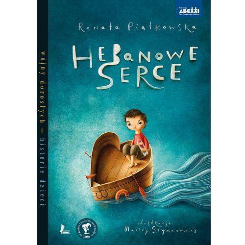 Książki dla dzieci, Hebanowe serce + zakładka do książki GRATIS (opr. twarda)