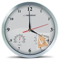 Zegary, Esperanza Zegar ścienny Washington biały (EHC008W) Darmowy odbiór w 21 miastach!