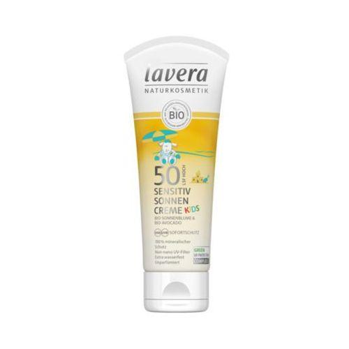 Kosmetyki z filtrem dla dzieci, Krem na słońce dla dzieci sensitiv LSF/SPF 50 z bio-słonecznikiem i bio-awokado