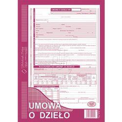 """Druk """"Umowa o Dzieło"""" A4 z rachunkiem MICHALCZYK I PROKOP 510-1"""