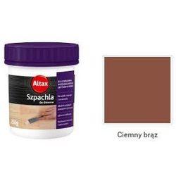 ALTAX- szpachla do drewna, ciemny brąz, 250 g