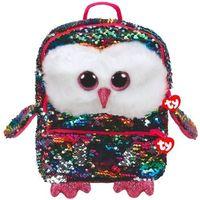 Tornistry i plecaki szkolne, TY plecak z cekinami Fashion Sequins Owen - sowa