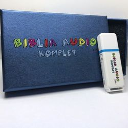 BIBLIA AUDIO KIDS KOMPLET PENDRIVE