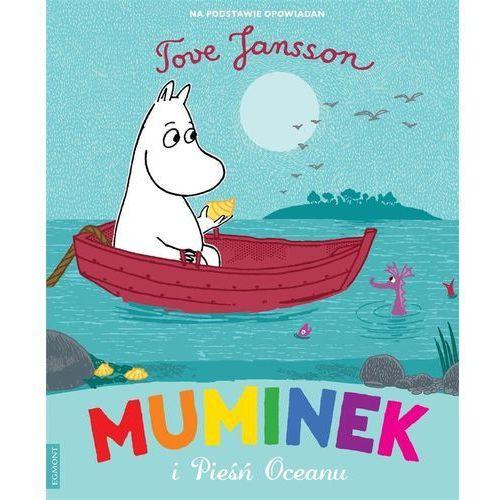 Książki dla dzieci, Muminek i pieśń oceanu (opr. miękka)