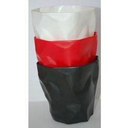"""Pojemnik na biurko """"Papier"""" czerwony - D2 Design - Zapytaj o rabat!"""