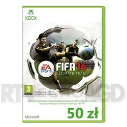 FIFA 14 Ultimate Team Xbox Live 50 PLN