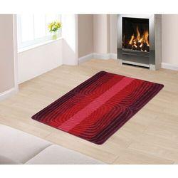 """Chodnik dywanowy """"Spirale"""" czerwony, 80 x 120 cm"""