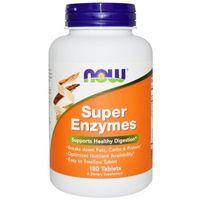 Witaminy i minerały, NOW FOODS Super Enzymes - 180 tabletek