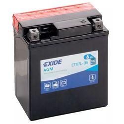 Akumulator motocyklowy EXIDE ETX7L-BS/ YTX7L-BS 12V 6Ah 100A EN P+
