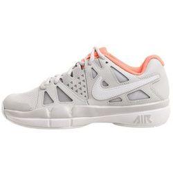 Nike Performance AIR VAPOR ADVANTAGE Obuwie do tenisa Outdoor vast grey/white/lava glow