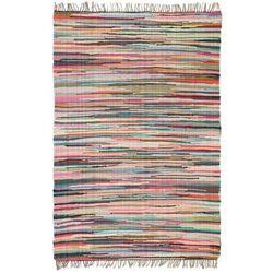 Ręcznie tkany dywanik Chindi, bawełna, 120x170 cm, kolorowy