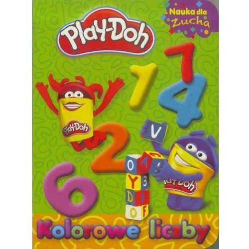 Pozostałe zabawki edukacyjne, Play-Doh. Nauka dla zucha. Kolorowe liczby - Praca zbiorowa