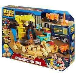 Bob Budowniczy Zestaw Plac budowy + kinetyczny piasek