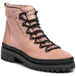 Trapery TOMMY HILFIGER - Cosy Outdoor Bottie FW0FW04349 Cameo Rose 674