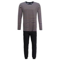 YOURTURN ELECTRIC STRIPE LONG Piżama black/multi