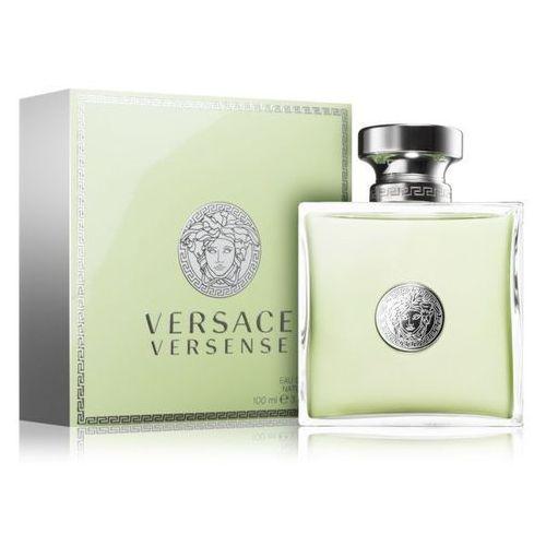 Wody toaletowe damskie, Versace Versense Woman 100ml EdT