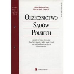 Orzecznictwo Sądów Polskich 6/2010 (opr. miękka)