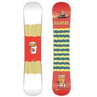 Deski snowboardowe, NOWA DESKA SNOWBOARD SALOMON 6 PIECE 155 CM 2018/19