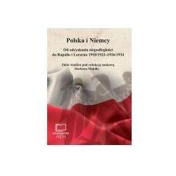 Polska i niemcy. od odzyskania niepodległości do rapallo i locarno 1918/1922 - 1926/1934