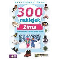 Kolorowanki, 300 naklejek na zimę - Opracowanie zbiorowe