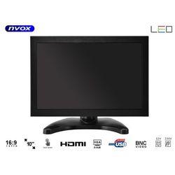 """NVOX OPC1019HT Monitor dotykowy IPS open frame LED 10"""" VGA HDMI USB AV 12V 230V"""