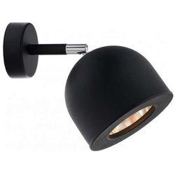 Kinkiet LAMPA ścienna PILAR 50804102 Kaspa metalowa OPRAWA regulowany reflektorek czarny