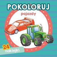 Książki dla dzieci, Pokoloruj pojazdy