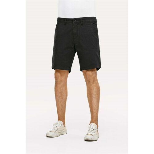 Pozostała odzież męska, szorty REELL - Flex Chino Black (Black) rozmiar: 34