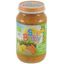Mix warzyw z kaszą jaglaną BIO 220g BabySun od 8 miesięcy