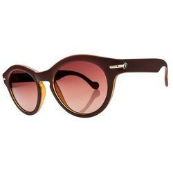 Okulary przeciwsłoneczne - potion macchiato/brwn gradient + case (macchiato) marki Electric