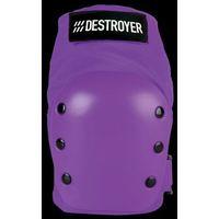 Ochraniacze na ciało, ochraniacz kolan DESTROYER - Rec Knee Purple (PRP) rozmiar: M