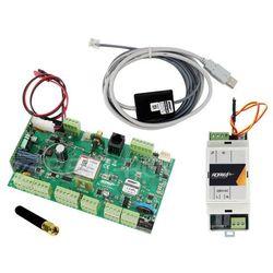 OptimaGSM Zestaw alarmowy, centrala alarmowa, zasilacz, antena i kabel do programowania ROPAM