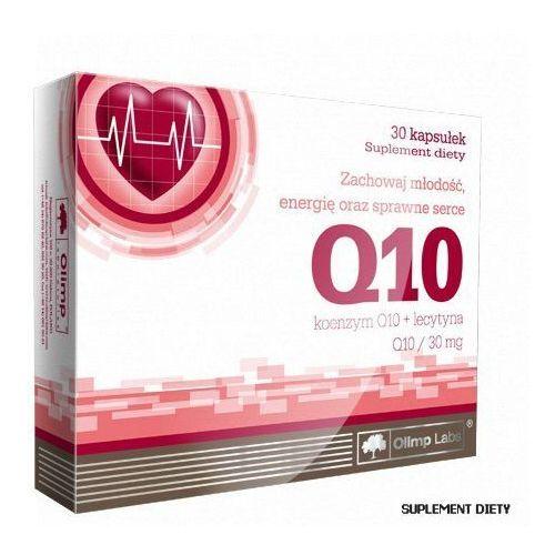 Leki na przeziębienie i grypę, Olimp koenzym q10 30 mg+lecytyna x 30 kaps