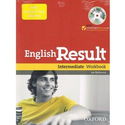 English result intermediate Workbook with answer key booklet+Cd (opr. miękka)