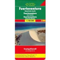 Mapy i atlasy turystyczne, Fuerteventura 1:100 000. Mapa samochodowa, składana. Freytag&Berndt (opr. twarda)