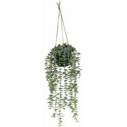 Eukaliptus sztuczny wiszący w doniczce 45 cm SPLENDID