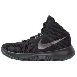 Nike Performance AIR PRECISION NBK Obuwie do koszykówki black/metallic dark grey/cool grey/white