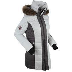 Płaszcz outdoorowy bonprix srebrny