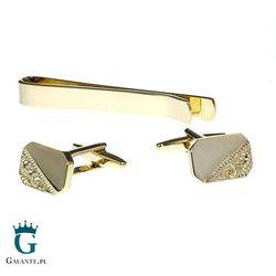 Komplet biżuterii w kolorze złotym SDK-1025