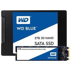 """Dysk SSD WD Blue 2TB 2,5"""" (560/530 MB/s) WDS200T2B0A 3D NAND"""