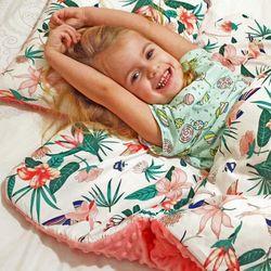Śpiworek przedszkolaka koliberki + worek